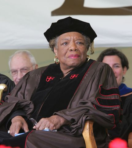 Maya Angelou at Lehigh University's 137th Commencement