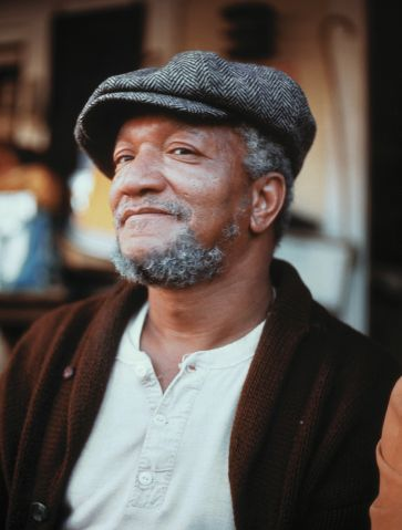 Actor Redd Foxx in Sanford and Son