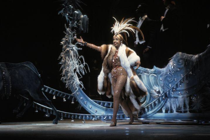 Joséphine Baker sur scène en 1973