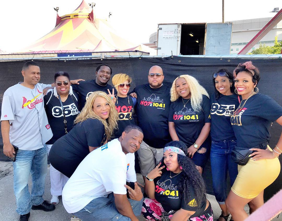 Hot 104.1 and 95.5 The Lou at UniverSoul Circus