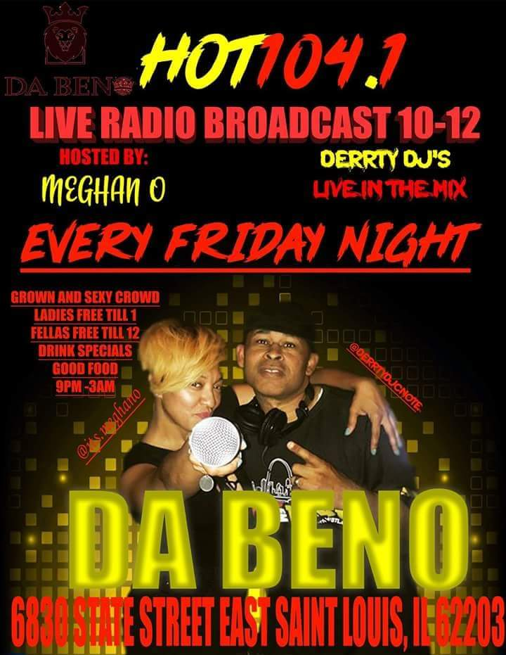 New Live Broadcast Flyer