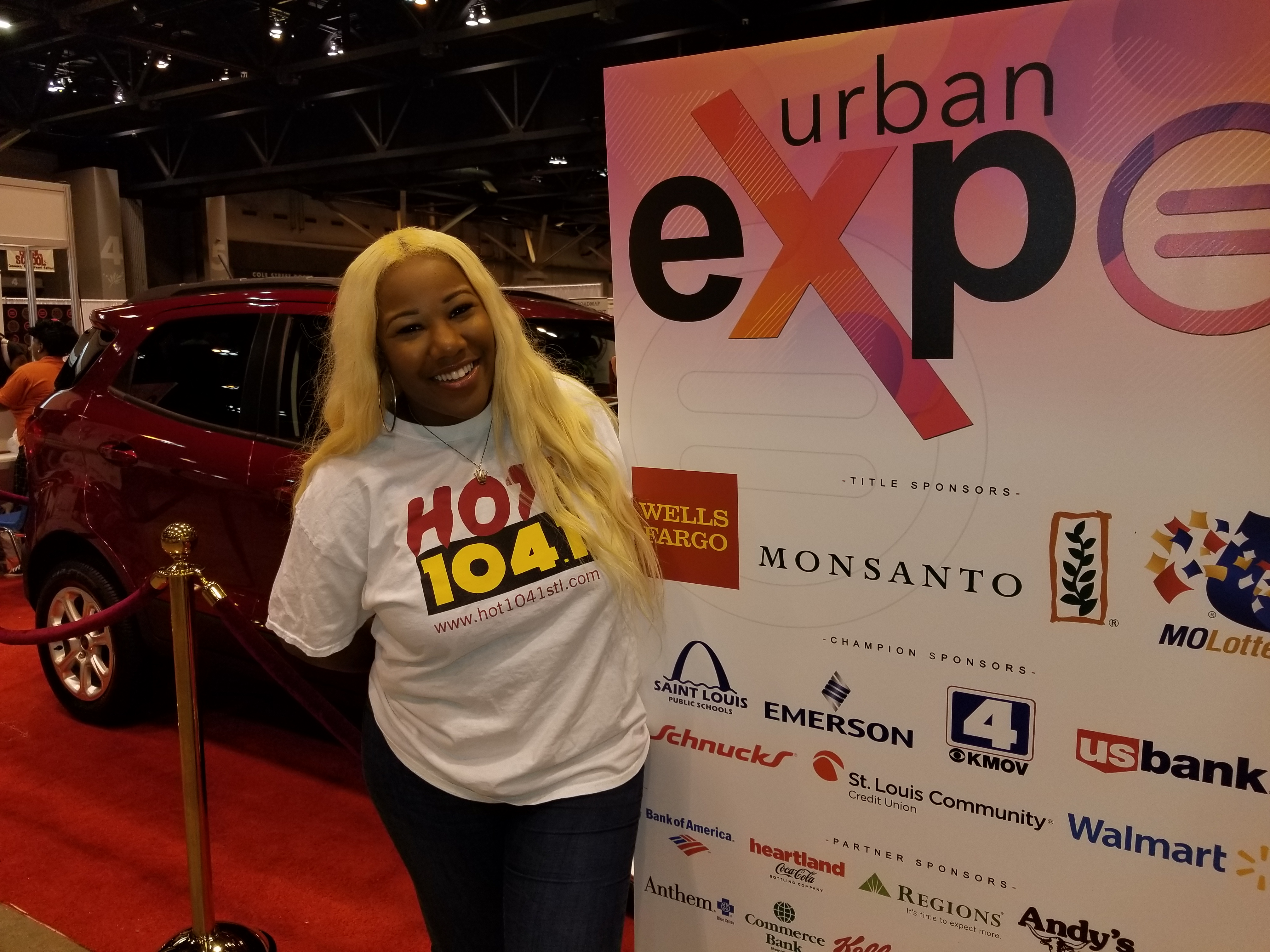 Hot 104.1 at Urban Expo 2018