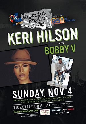 District Rhythms with Keri Hilson Bobby V
