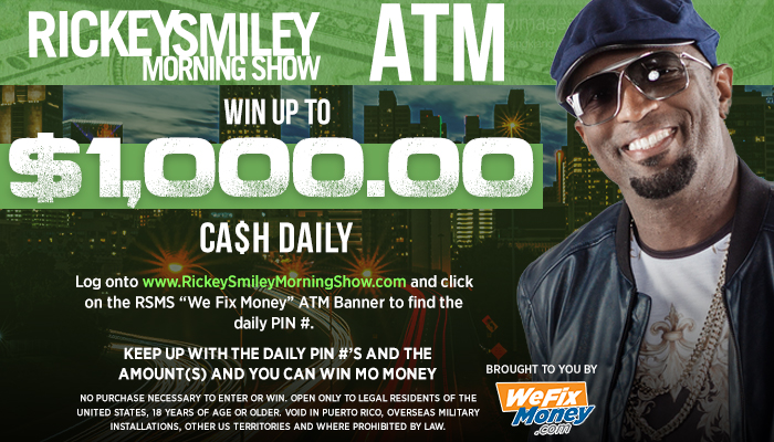Rickey smiley atm contest