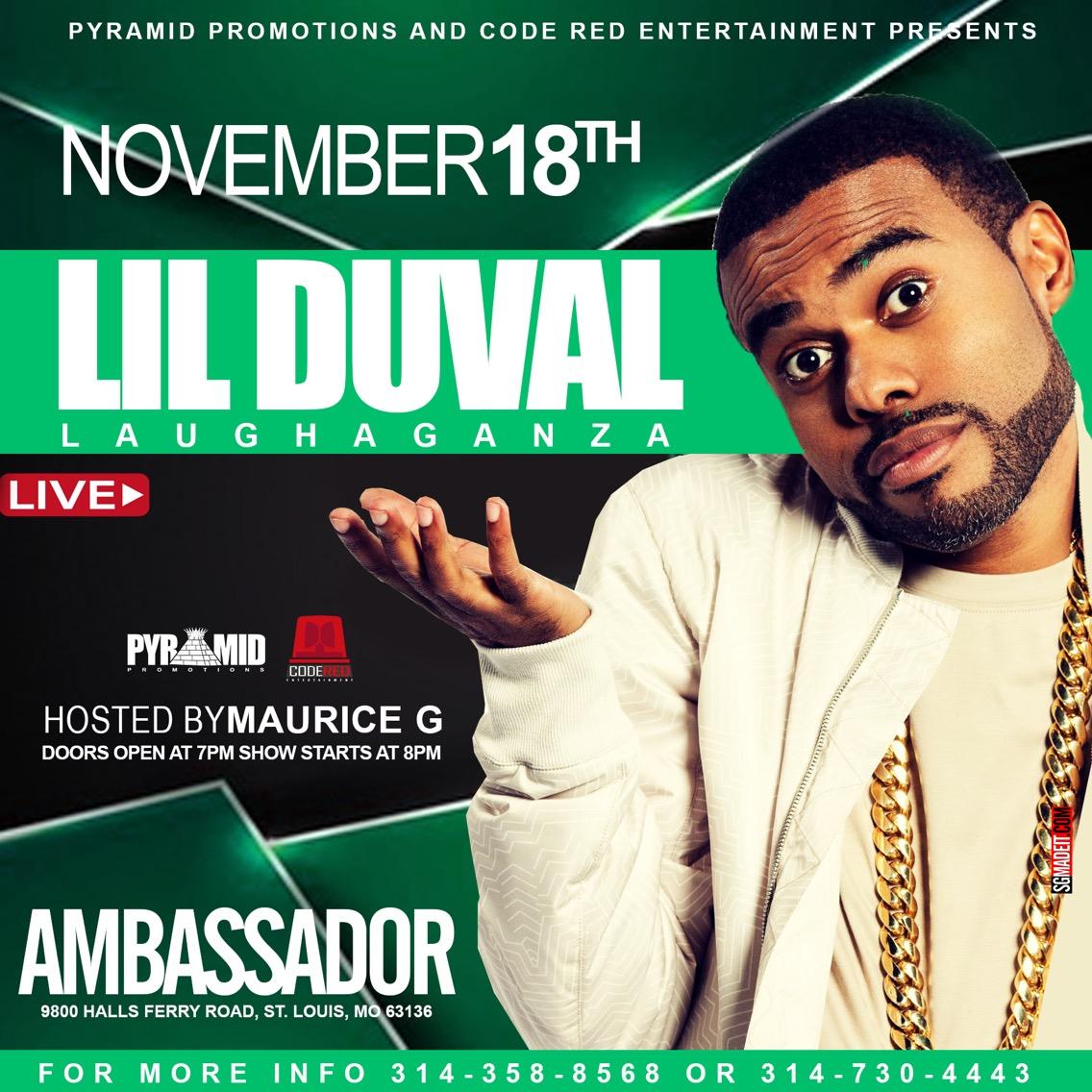Lil Duval in STL