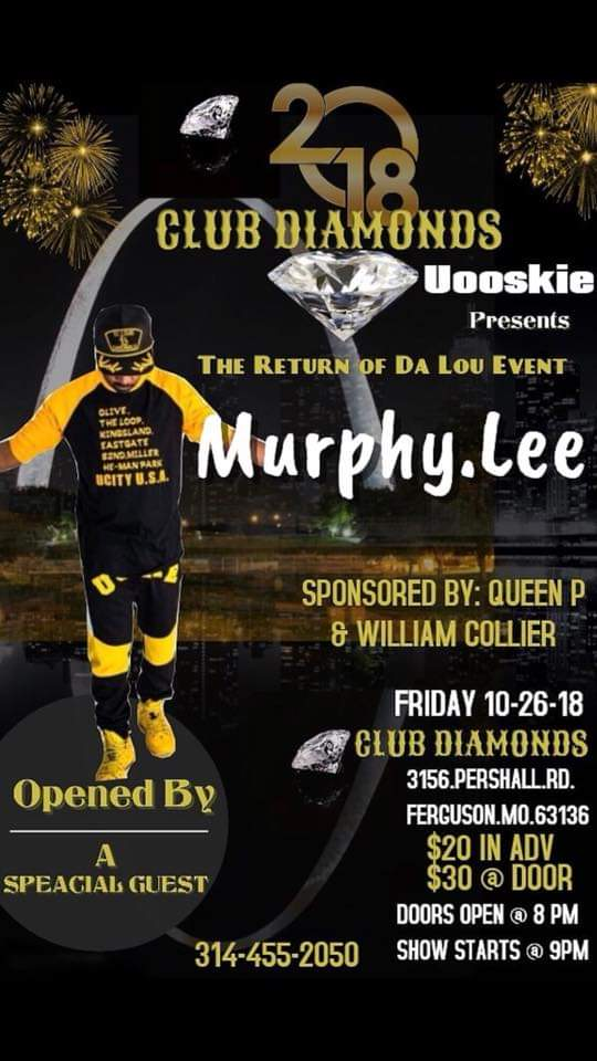 Murphy Lee LIVE at Club Diamonds