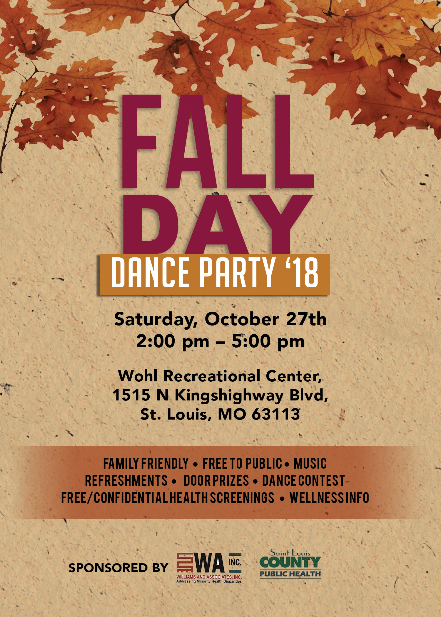 Fall Day Dance Party 2018