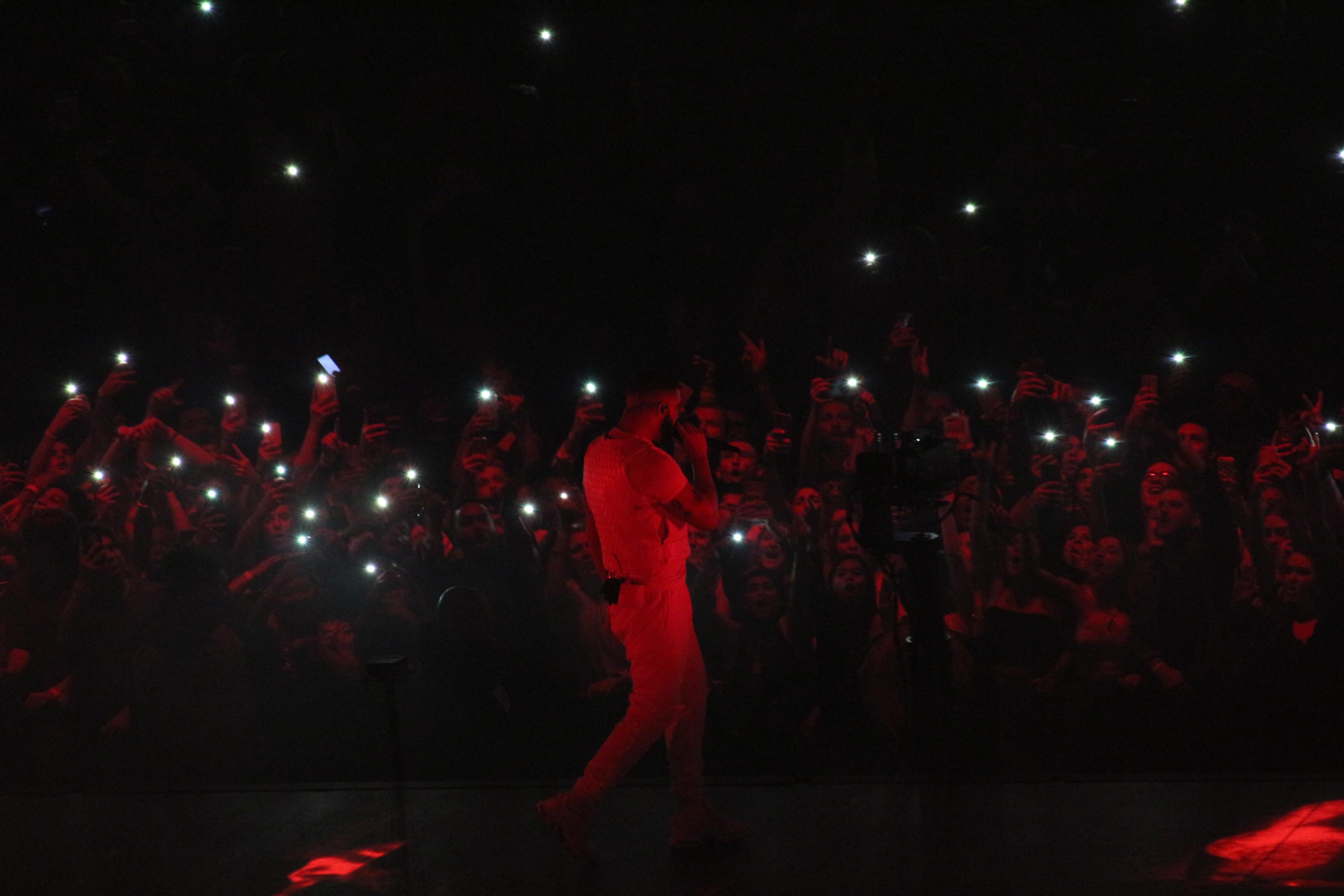 Aubrey and 3 Migos Tour