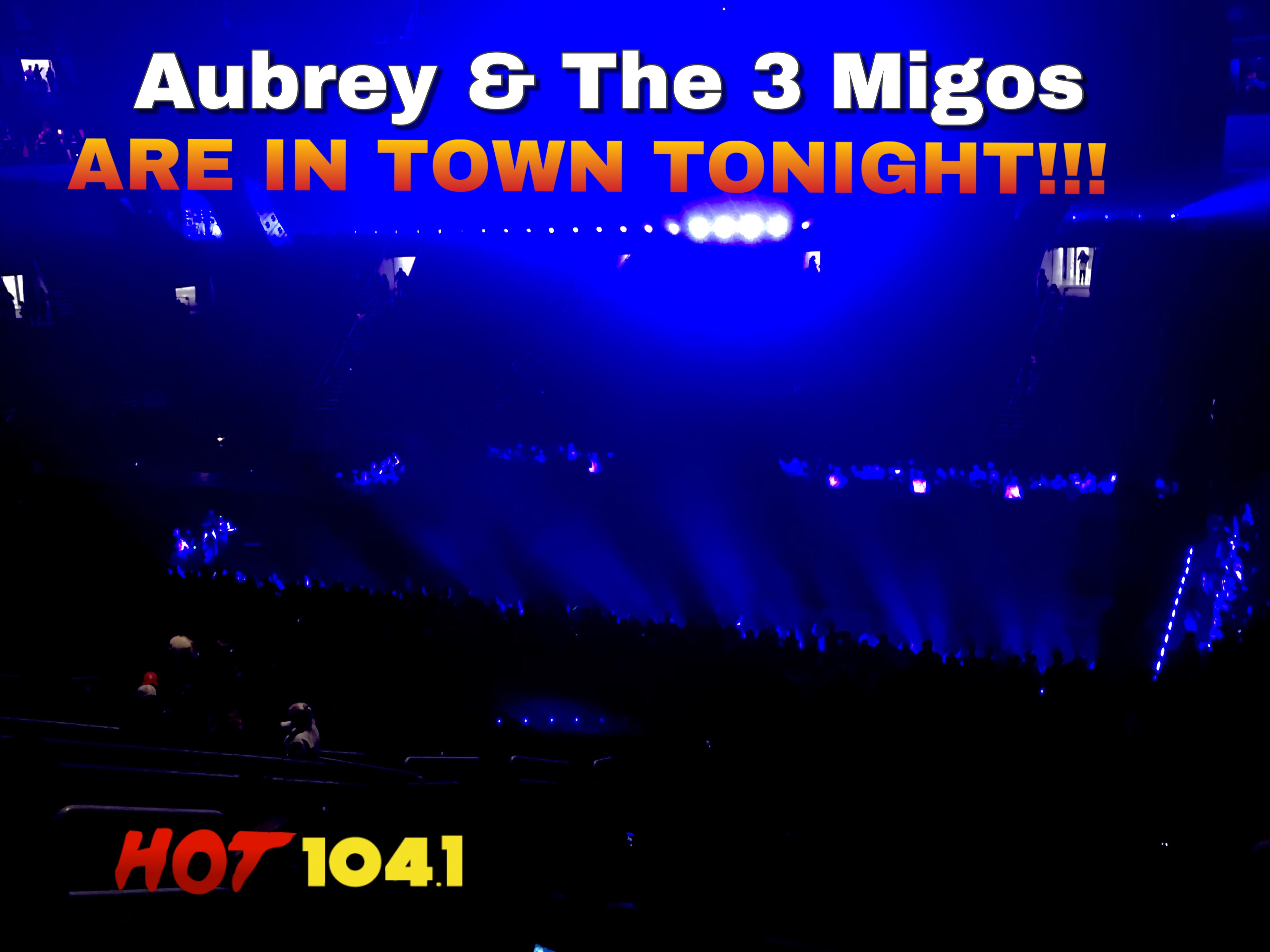 Aubrey and 3 Migos Tour