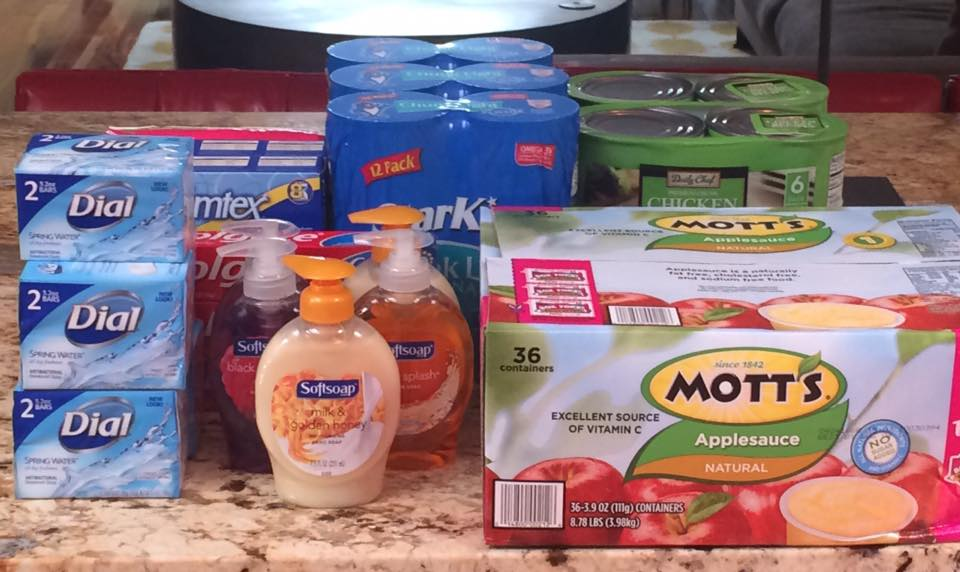 'The Little Free Pantry' On USA Street Invites People To Leave Grocery Items For Those In Need
