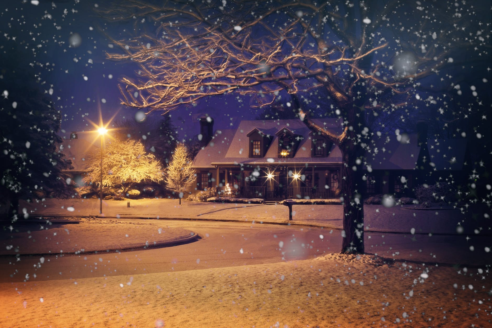 christmas home house light
