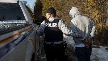Northern NY State Border With Canada Becomes Illegal Crossing Area For Asylum Seekers Fleeing U.S. For Canada