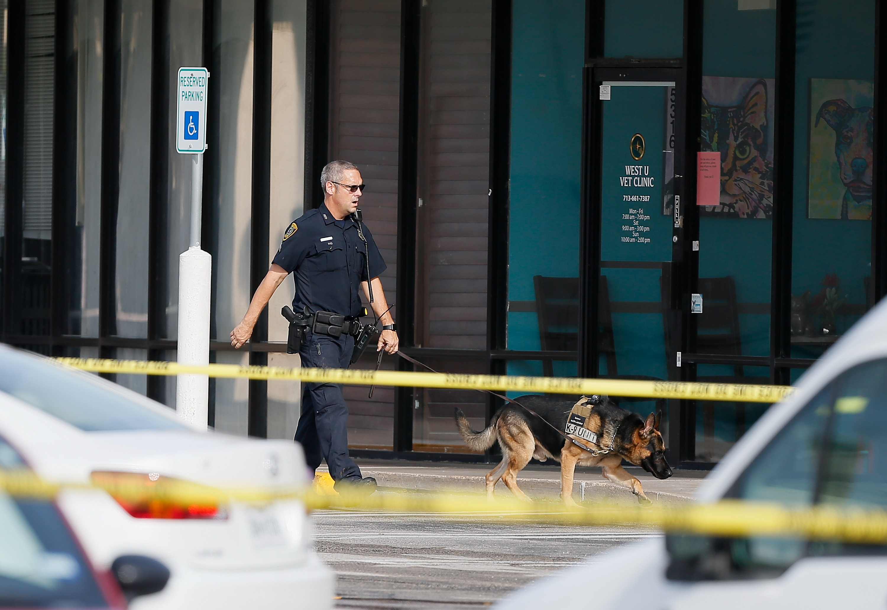 Nine Wounded As Man Opens Fire At Houston Strip Mall