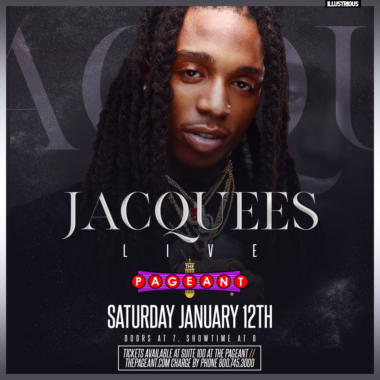 Jacquees in St. Louis 2019