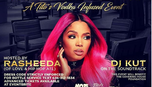 Revised Vodka and Heels Flyer - Rasheeda