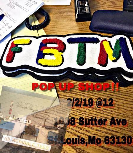 FBTM Pop Up Shop