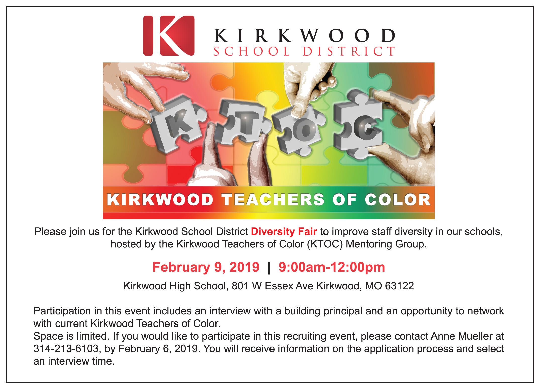 Kirkwood Diversity Fair
