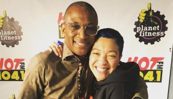 Tommy Davidson & Meghan O at Hot 104.1