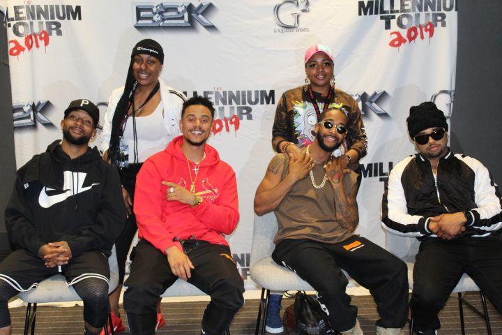 B2K Millinium Tour Meet & Greet Photos