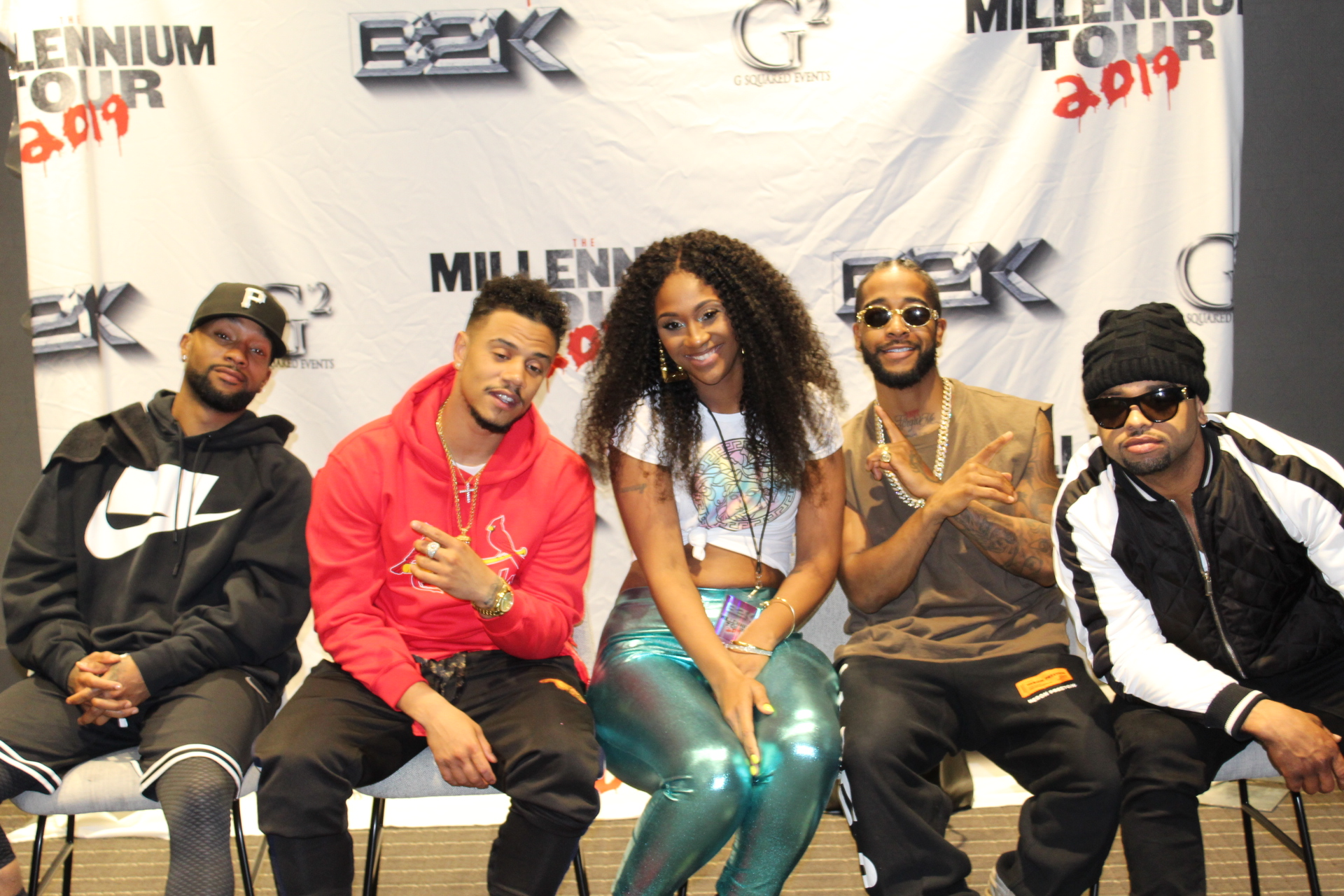 B2K Millinium Tour Meet & Greet Photos