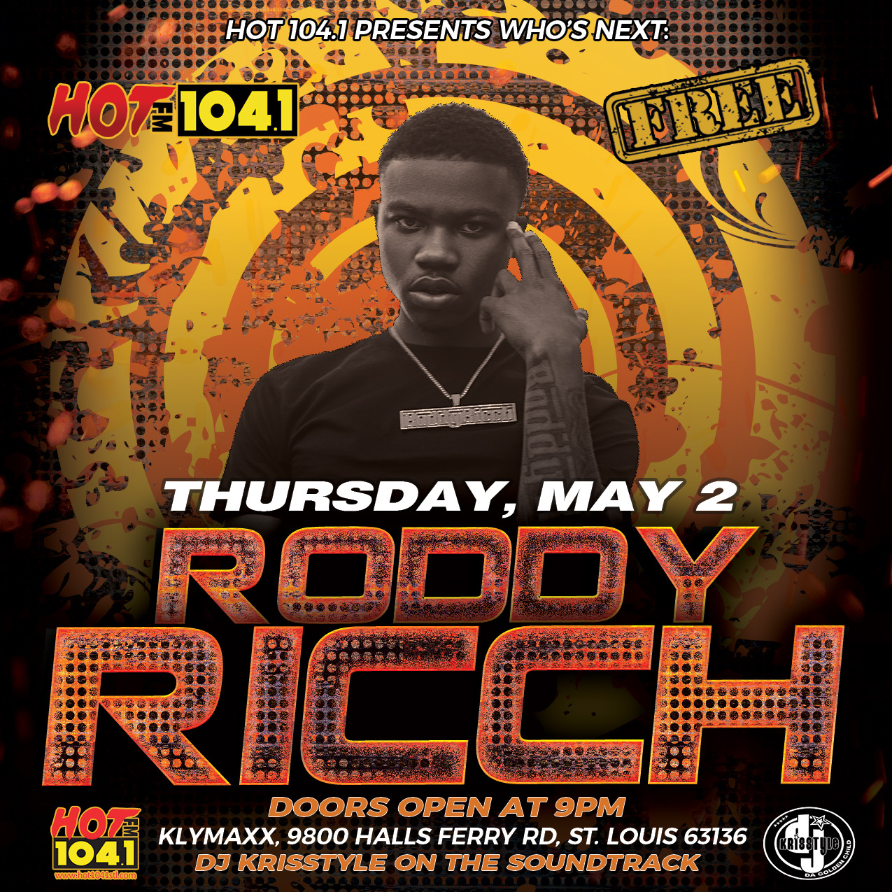 Who's Next Roody Rich