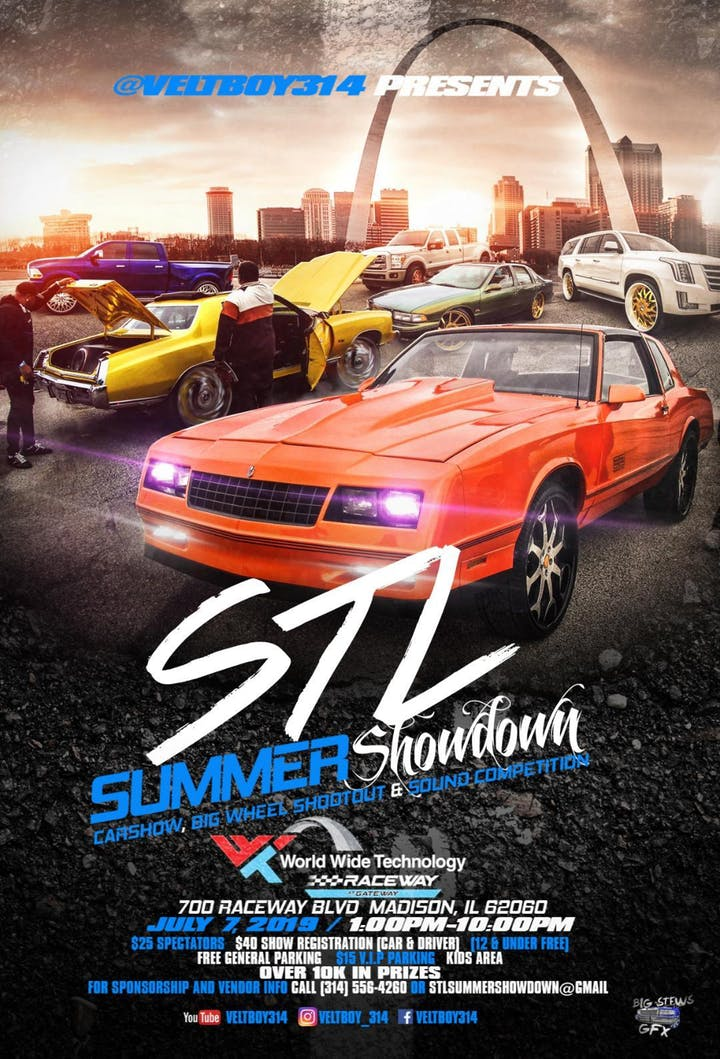 STL Summer Showdown Car Show 2019