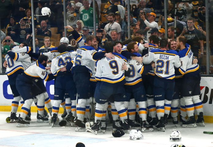 2019 Stanley Cup Finals: St. Louis Blues Vs Boston Bruins At TD Garden