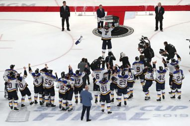 The St Louis Blues Win Their First Stanley Cup Hot 104 1