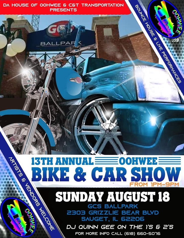 13th Annual OohWee Bike and Car Show