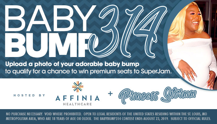 Local: Affinia Baby Bump 314 Contest_RD St. Louis WHHL_July 2019