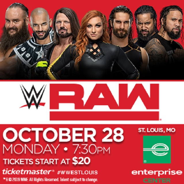 WWE Monday Night Raw 2019