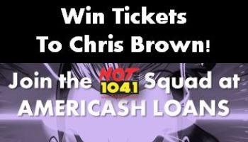 Chris Brown tix at Americash Remote