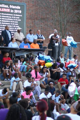 Candlelight Vigil In Remembrance of Jurnee & Our Children