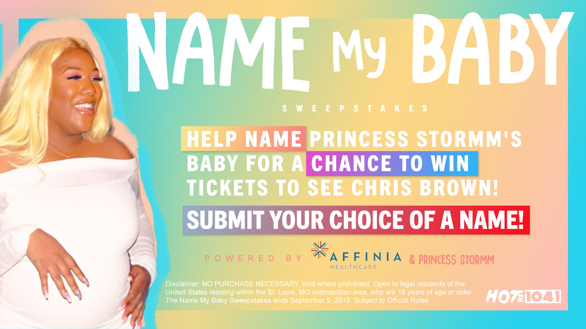 Name My Baby Sweepstakes - Feature Image