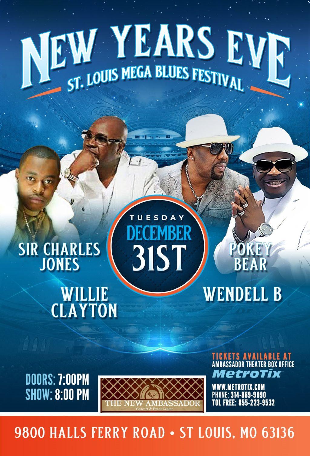 NYE Mega Blues Festival