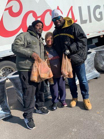 Demetrious Johnson Charitable Foundation Thanksgiving Basket Giveaway