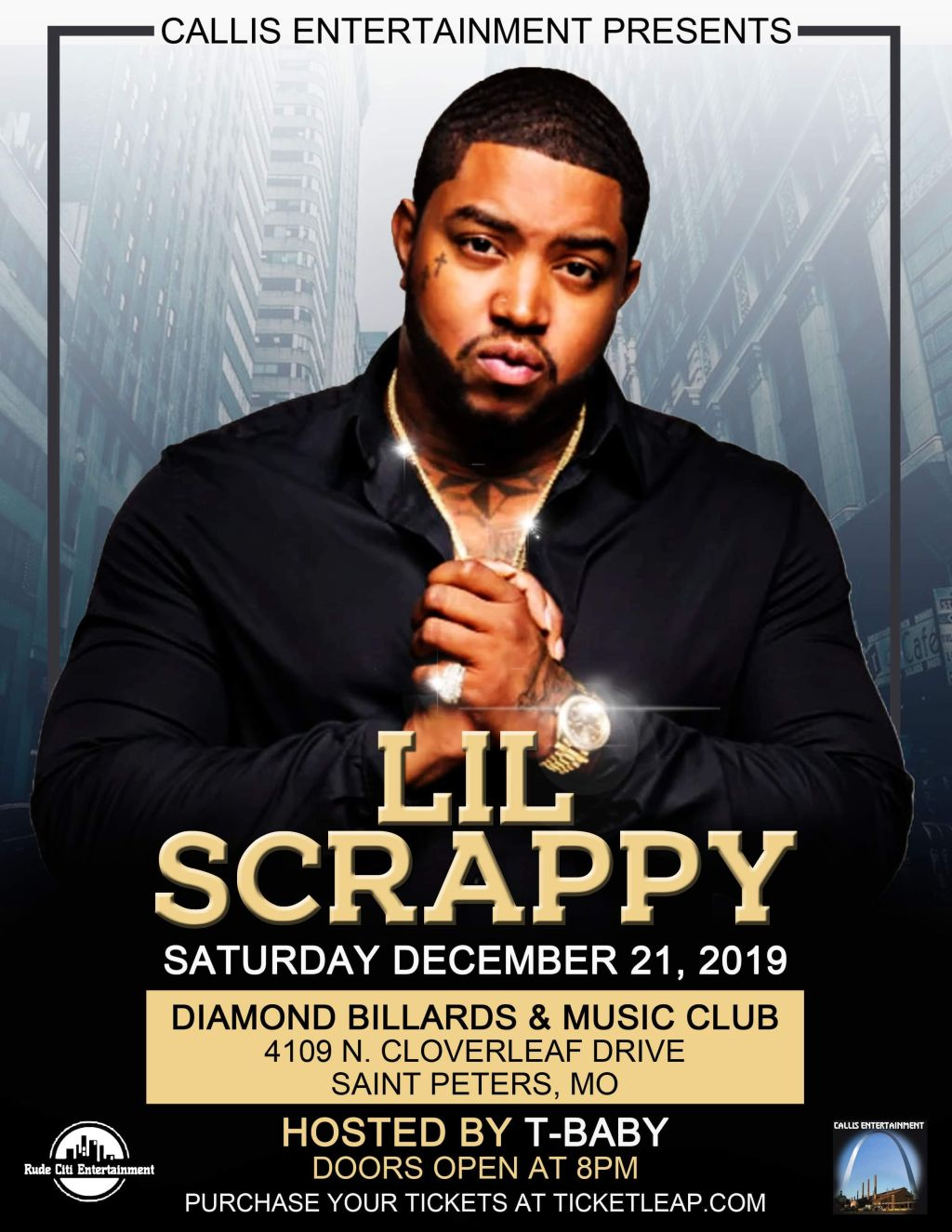 Lil Scrappy Live at Diamond Billiards