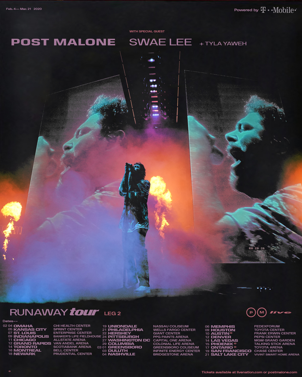 Post Malone tour - STL
