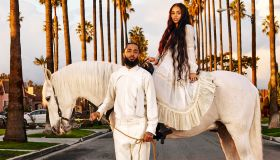 Lauren London and Nipsey Hussle GQ Shoot