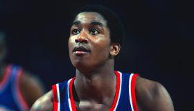 Detroit Pistons v Washington Bullets