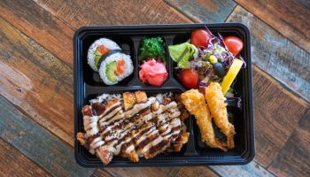 Chicken Teriyaki Lunch Box.
