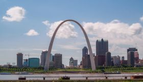 The Gateway Arch and St. Louis Skyline, Missouri