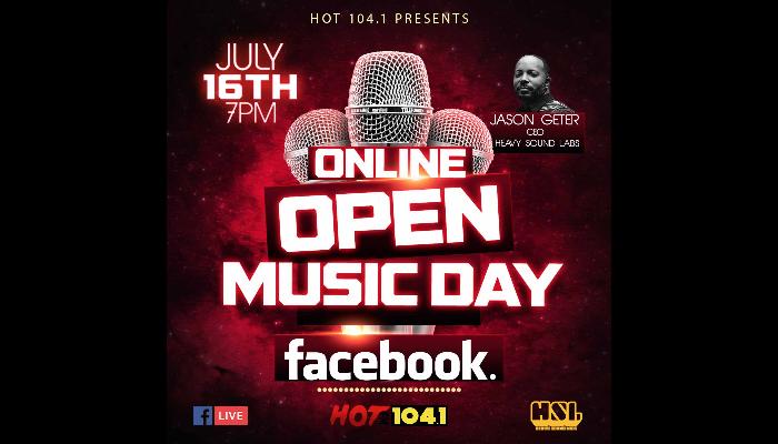 Online Music Day Jason Geter
