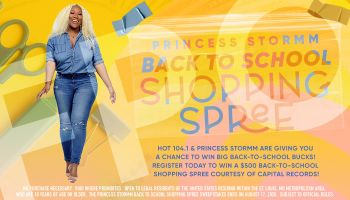Princess Stormm Back to School Shopping Spree Contest_RD St. Louis WHHL_July 2020