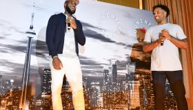 Lebron James & Mav Carter Host Undisputed Event
